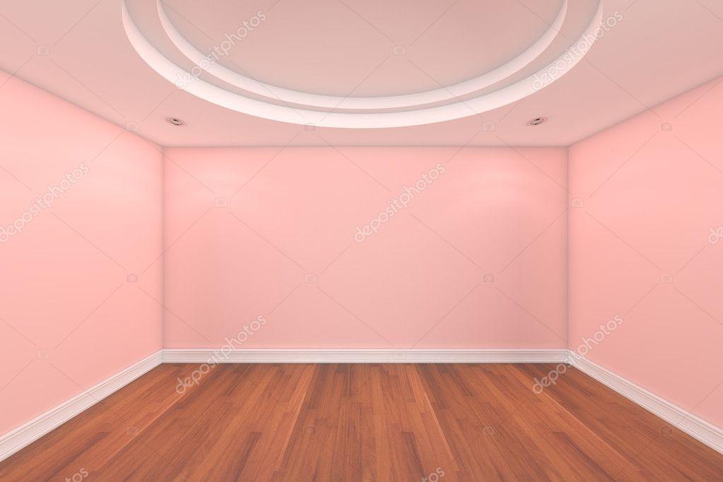 Empty Room Pink Wall Stock Photo 169 Sumetho 9908055
