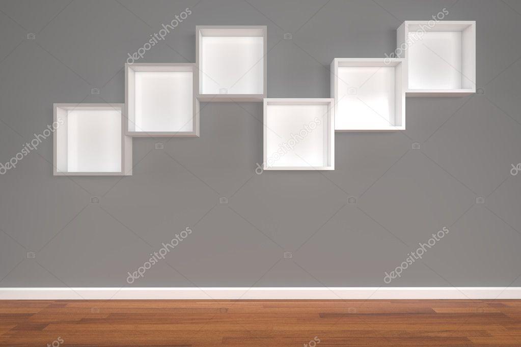 Soggiorno classico usato mobile mobilificio morra mensole a muro
