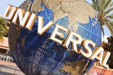 Universal Globe in Orlando, Florida
