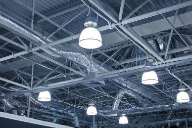Ventilation system of modern building