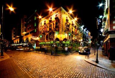 Temple Bar Street in Dublin, Ireland