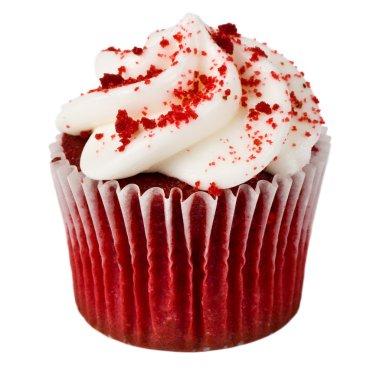 Single Red Velvet Cupcake