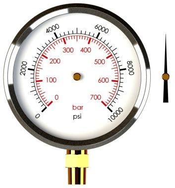 Pressure Gauge with Needle