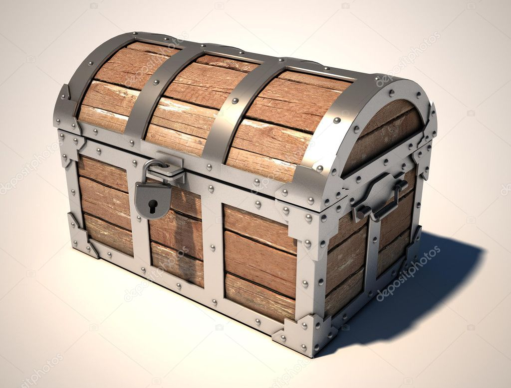 treasure chest u2014 stock photo koya979 9655065