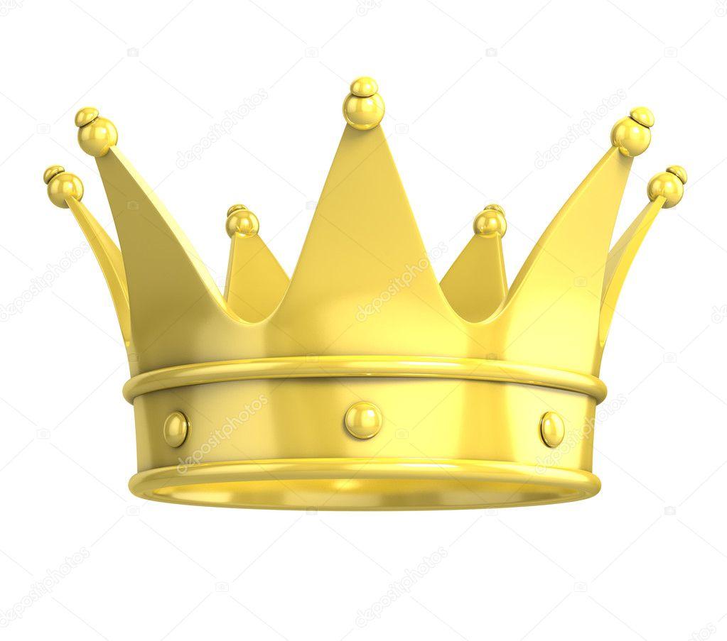 Golden crown stock photo koya979 9655706 - Clipart couronne ...