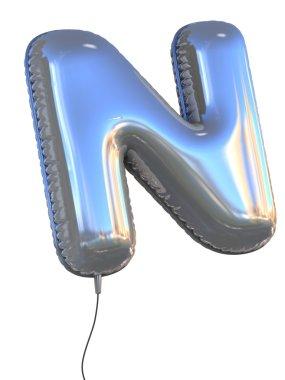 Letter N balloon