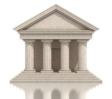 Temple 3d illustration