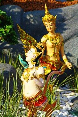 Thai statues Phra Men, Bangkok, Thailand.
