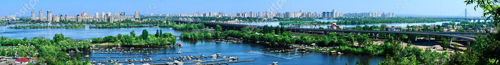 Panorama Kiev, Ukraine