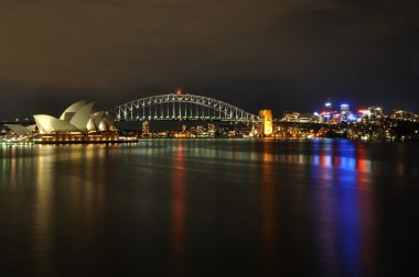 Sydney Central Business District reflected in Sydney Harbour