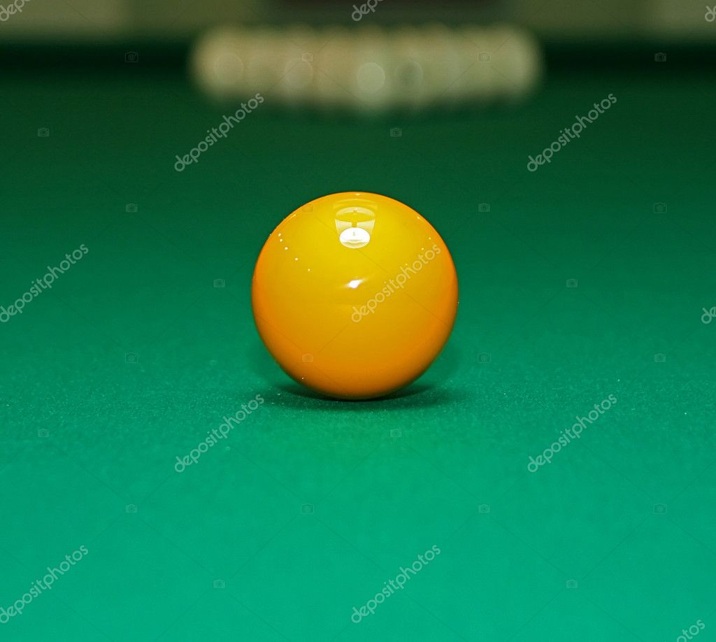 Pool Table Set Up For A Game Stock Photo Perofeev - How do you set up a pool table