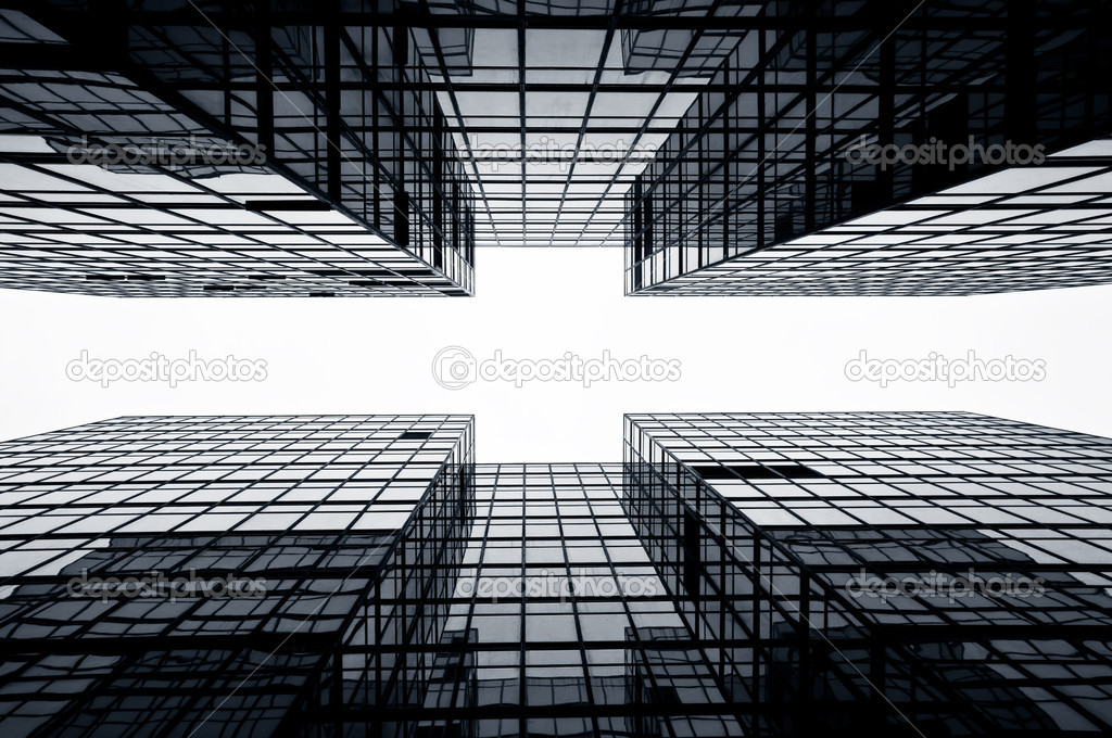 Glass Commercial Buildings, Hong Kong