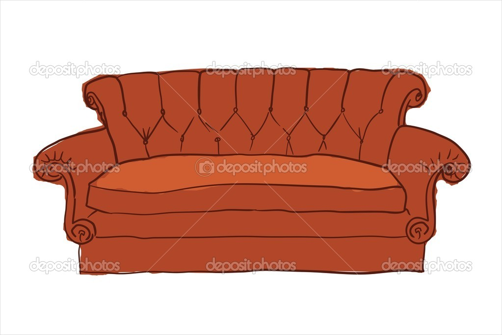 Friends Sofa Stock Vector C Analizarte 9461903