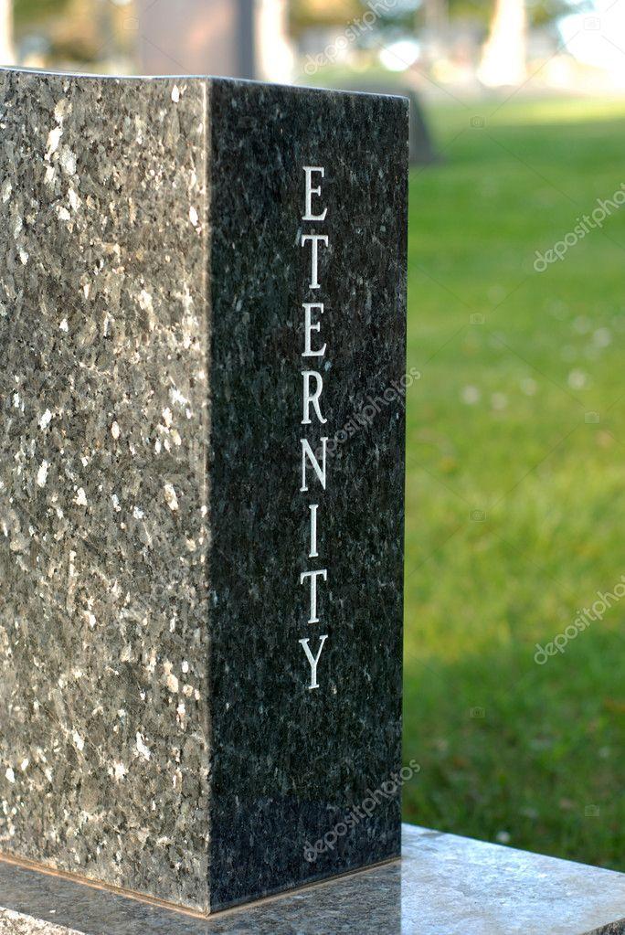 'Eternity' gravestone