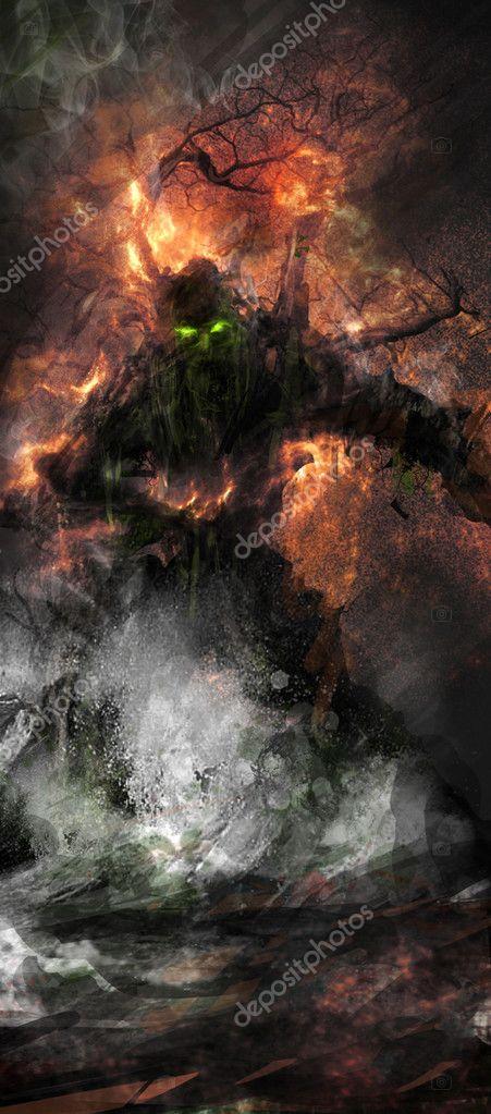 Fantasy treeman