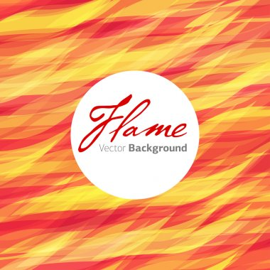 Flame fire vector background