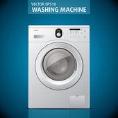 Zárt mosógép. Vektor