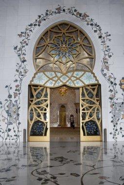 Main Door Sheikh Zayed Mosque