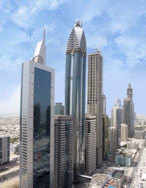 Aerial Shot of Sheikh Zayed Road