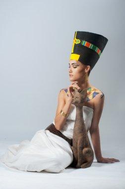 Egipt nefertiti goddess