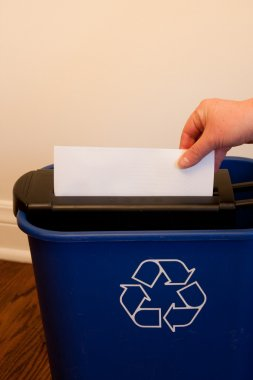 Shredding Paper for recycling
