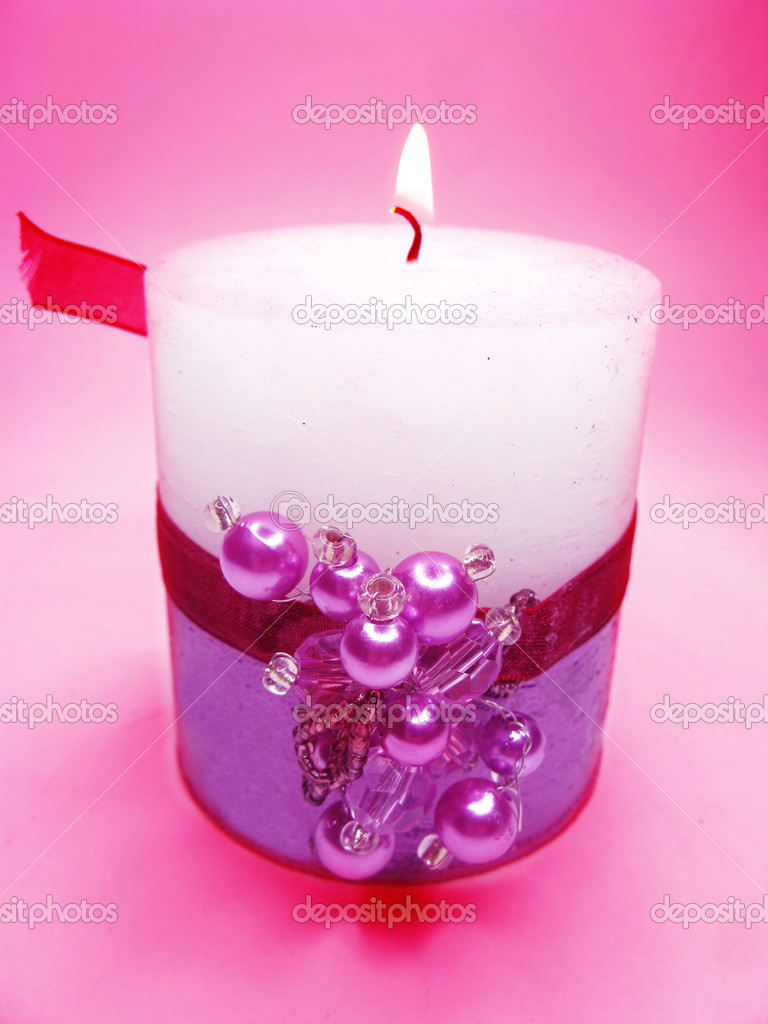 Spa aroma scented candle stock photo nastya22 9711732 for Spa smelling candles