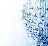 krystal moderní lustr