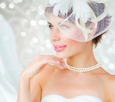 Bride portrait.Wedding dress