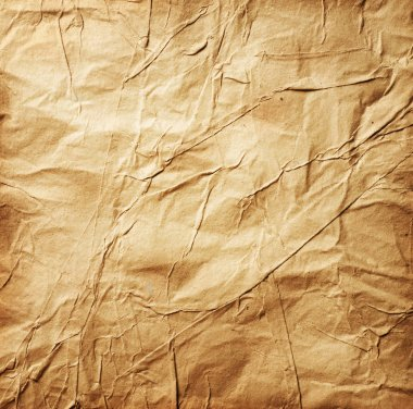 Paper. Old Crumpled Paper background