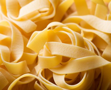 Pasta background. Selective Focus