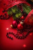 Vánoční a novoroční pozdrav card design