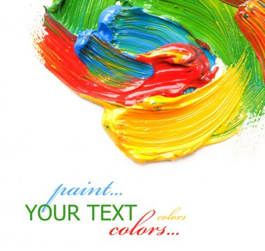 Color Paint stock vector