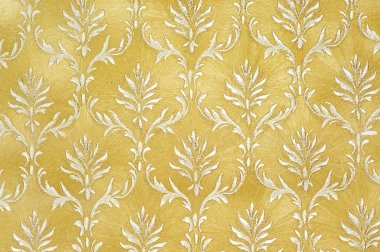 Golden Damask Background
