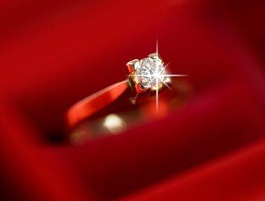 Wedding Ring. Shallow DOF