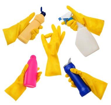 Rubber Gloves Set