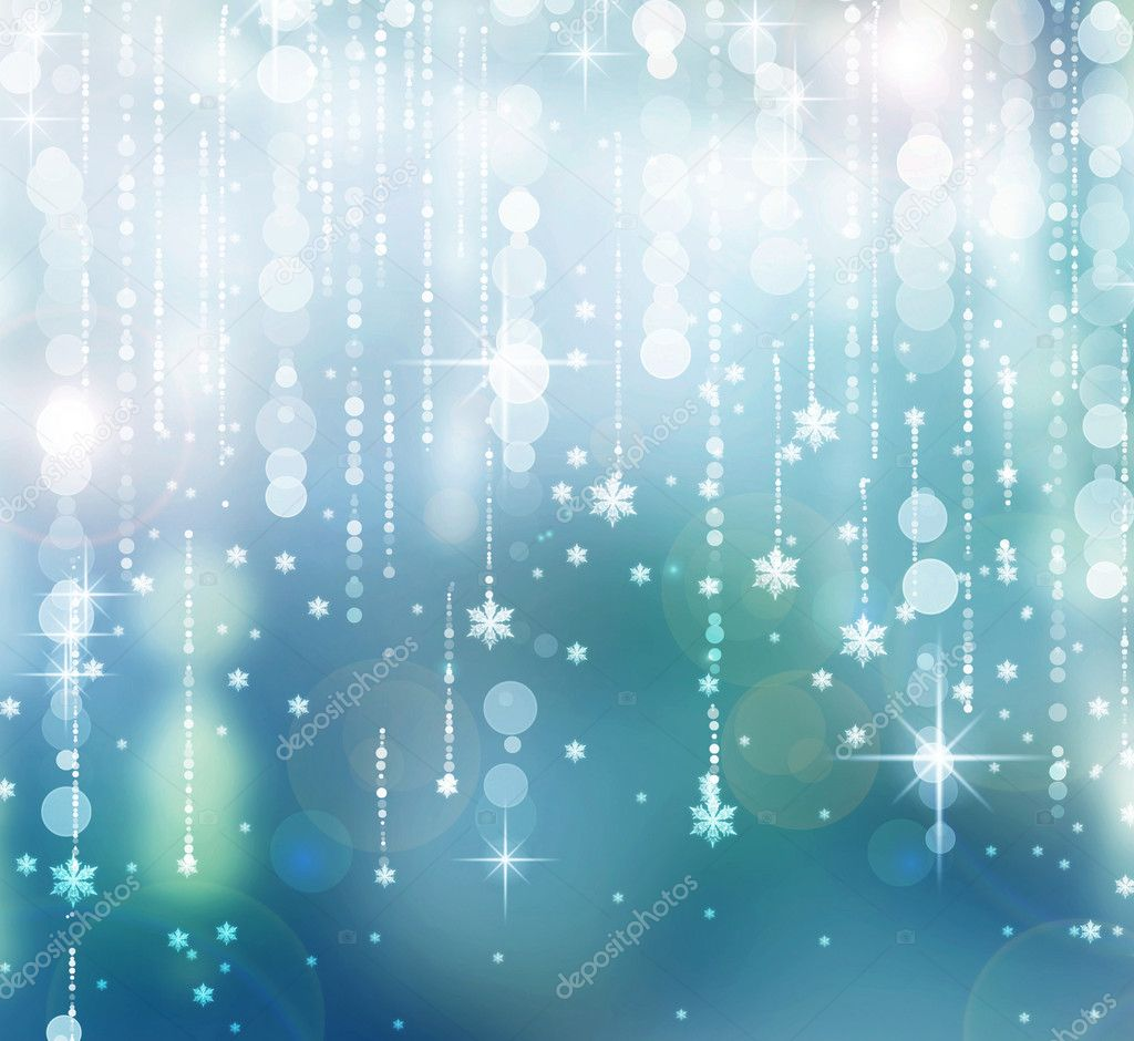 Christmas Abstract Background. Winter Holidays illustration