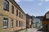 Staré kamenné dlážděné ulice města