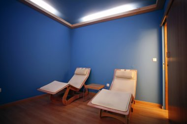 Spa and wellness hotel resort indoor room for relaxation