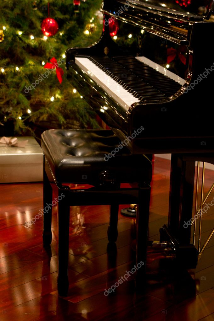 Christmas Piano.Christmas Piano Stock Photo C Wpd911 10068556