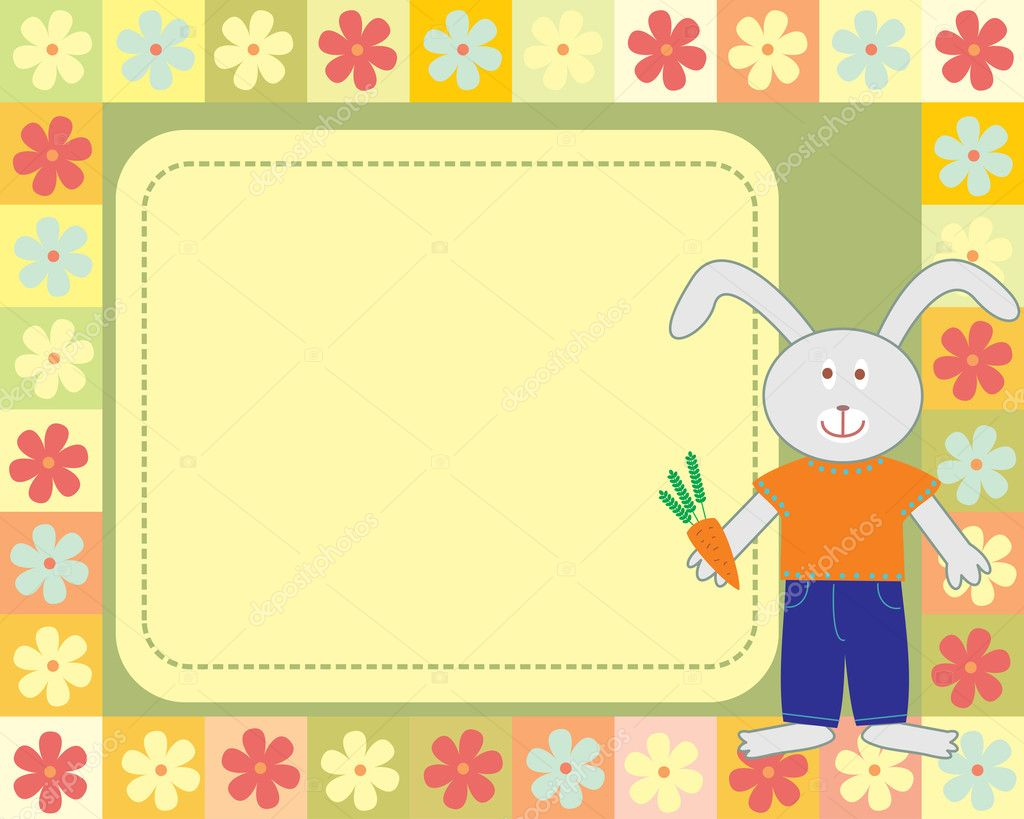 Charmant Rabbit Picture Frame Ideen - Familienfoto Kunst Ideen ...