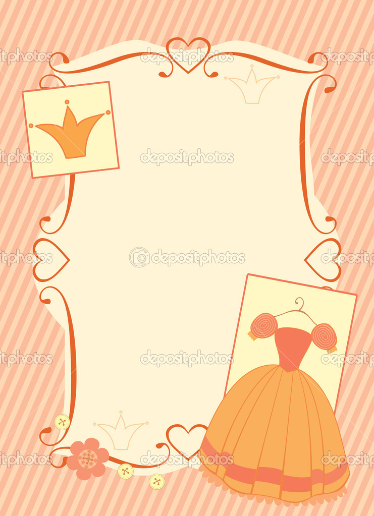 Little princess frame
