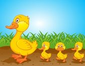 Fotografie Duck-cartoon