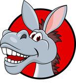 Photo Donkey head cartoon