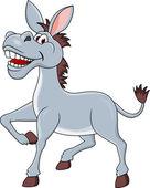 Photo Smiling donkey cartoon