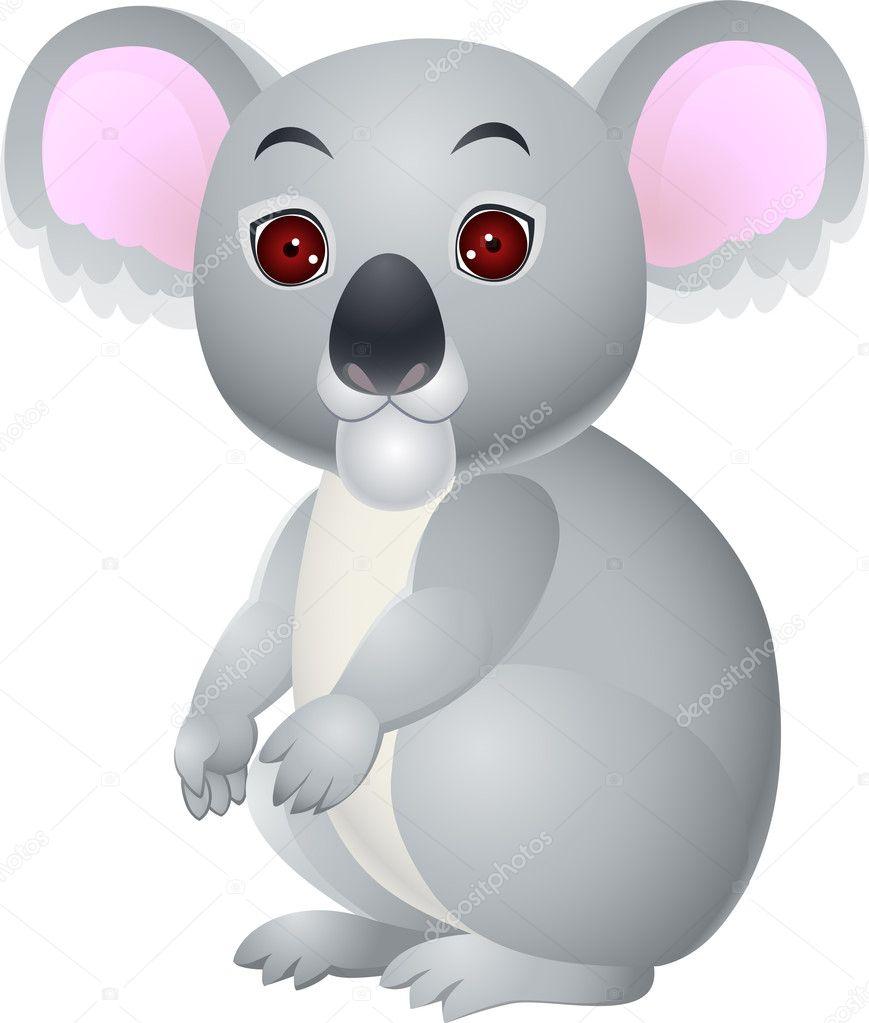 Cartone animato koala u vettoriali stock idesign