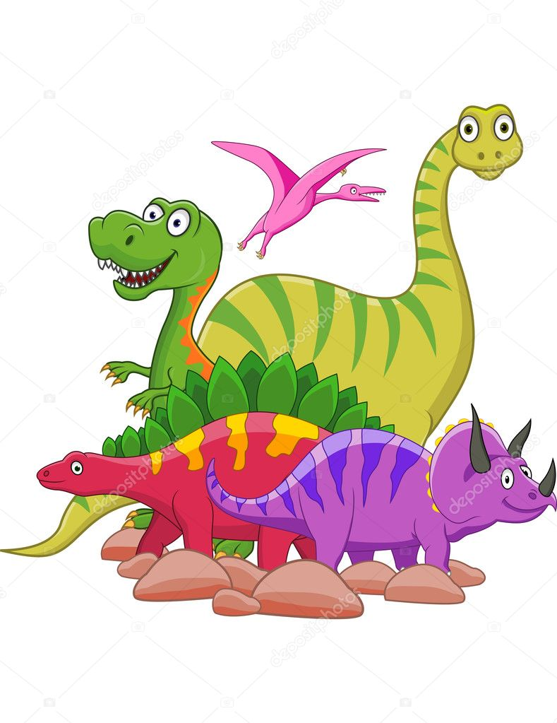 4 705 Dinosaur Clipart Vector Images Free Royalty Free Dinosaur Clipart Vectors Depositphotos