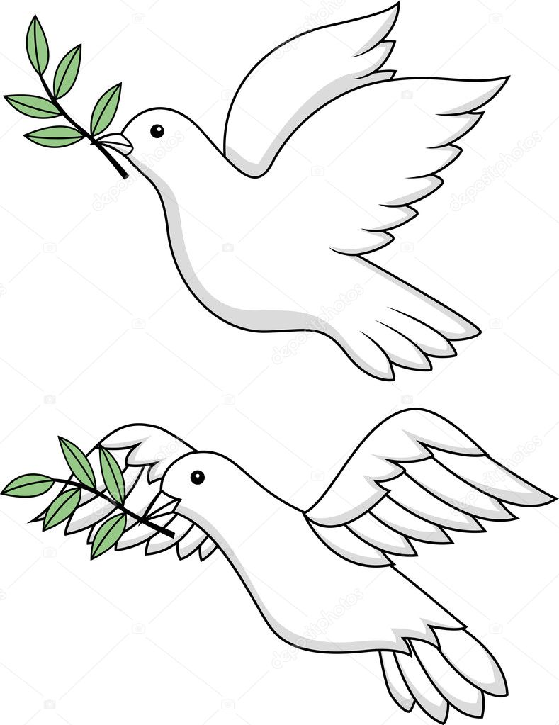 Holy Spirit Dove Stock Vectors Royalty Free Holy Spirit Dove