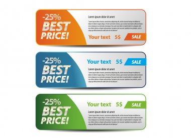 Best price banners