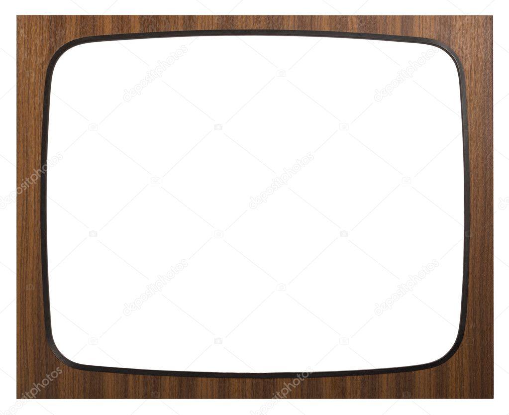 antiguo marco de tv foto de stock 9617315 depositphotos. Black Bedroom Furniture Sets. Home Design Ideas