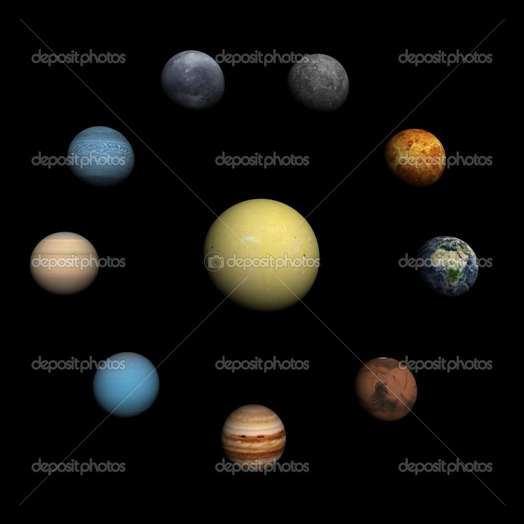 the nine planets - 450×450